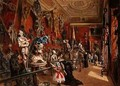 The second Armoury Room in the Ambraser Gallery of the Lower Belvedere - Carl Goebel