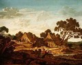 Landscape with Cottages near Middelburg - Johannes Goedaert