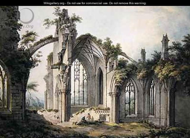 Melrose Abbey - John Glover