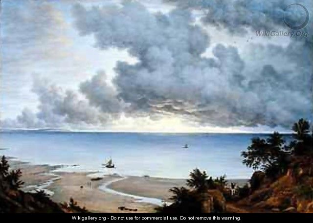 View from Shanklin Isle of Wight - John Glover