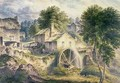 Mill in Bonsall Dale Derbyshire - John Glover