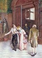 Crossing the Threshold the New Bride - Henry Gillard Glindoni