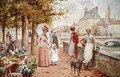 The Flower Seller - Alfred I Glendening