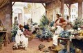Early Morning Market - Alfred I Glendening