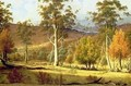 Natives in the Eucalypt Forest on Mills Plains Patterdale Farm - John Glover