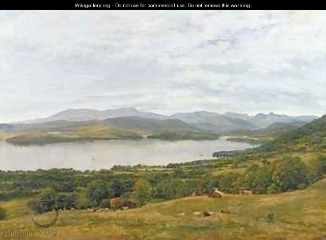 The Head of Windermere - John Glover