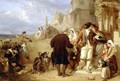 Departure of the Brittany Conscript - Frederick Goodall