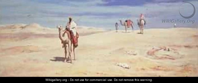 Arabs in the Desert 2 - Frederick Goodall