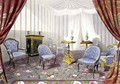 Crystal Palace the Queens Retiring Room from Recollections of the Great Exhibition - Walter Goodall