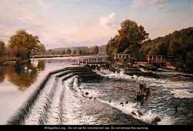 Boulters Weir Old Windsor - Walter H. Goldsmith
