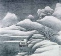 Snow covered landscape from an album of The Four Seasons - Xian Gong