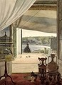 View from a Room with a Balcony over the Gulf of Naples - Carl Wilhelm Goetzloff