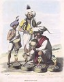 Snake Charmers near the Village of Manupar - (after) Gold, Charles Emilius
