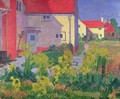 Harold Gilmans House at Letchworth - Spencer Frederick Gore