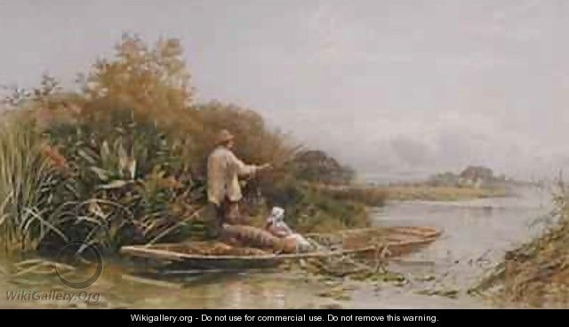 Eel Trappers on the Thames - William W. Gosling