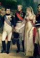 Napoleon Bonaparte 1769-1821 Receiving Queen Louisa of Prussia 1776-1810 at Tilsit 2 - Nicolas Louis Francois Gosse