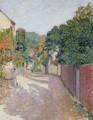 Village Lane - Spencer Frederick Gore
