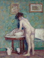 Interior with Nude - Spencer Frederick Gore