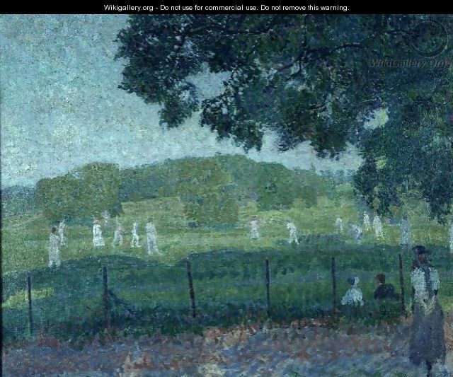 The Cricket Match - Spencer Frederick Gore