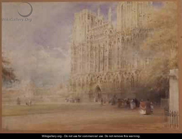 Wells Cathedral - Albert Goodwin