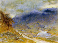 Mountain Mist - Albert Goodwin