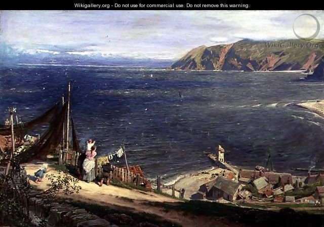 The Toilers Return - Albert Goodwin