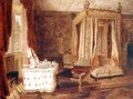 Interior of a Bedroom at Knole Kent - W.S.P. Henderson