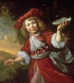 Homo Bulla A Boy Blowing Bubbles - Bartholomeus Van Der Helst
