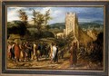 Christ entering Jerusalem - Jan van Hemessen