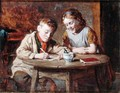 Writing a Letter - William Hemsley