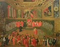 Audience with the Doge in at the College of the Ducale Palace - Joseph, The Younger Heintz