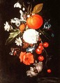 Still Life with Fruit and Flowers - Cornelis De Heem