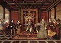 The Family of Henry VIII An Allegory of the Tudor Succession 2 - Lucas de Heere
