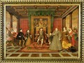 The Family of Henry VIII An Allegory of the Tudor Succession - Lucas de Heere