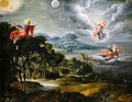 The Creation of Heaven Earth and Water - Willem van, the Elder Herp
