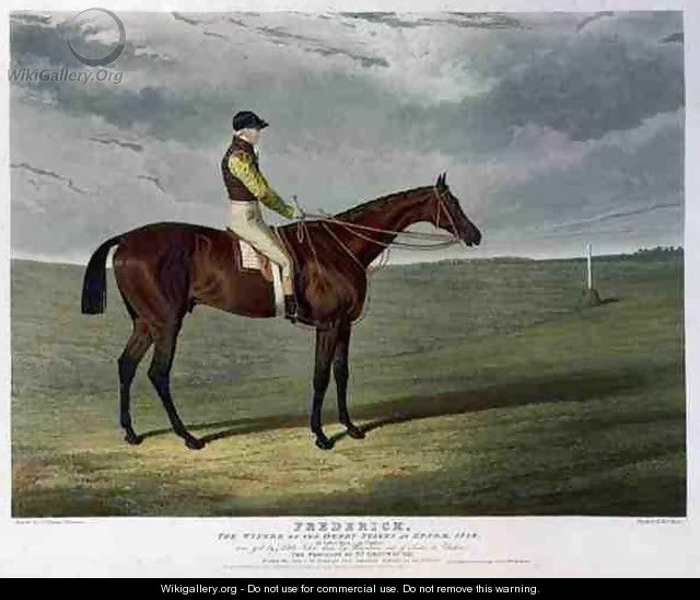 Frederick the Winner of the Derby Stakes at Epsom - (after) Herring Snr, John Frederick