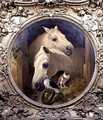 Horses by a Stable Door - (after) Herring Snr, John Frederick