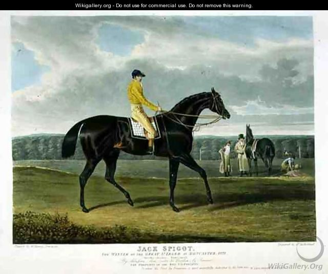 Jack Spigot the Winner of the Great St Leger at Doncaster - (after) Herring Snr, John Frederick
