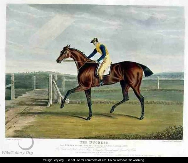 The Duchess the Winner of the Great St Leger at Doncaster - (after) Herring Snr, John Frederick