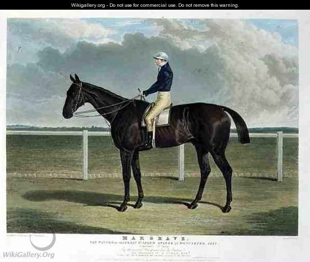 Margrave the Winner of the Great St Leger Stakes at Doncaster - (after) Herring Snr, John Frederick