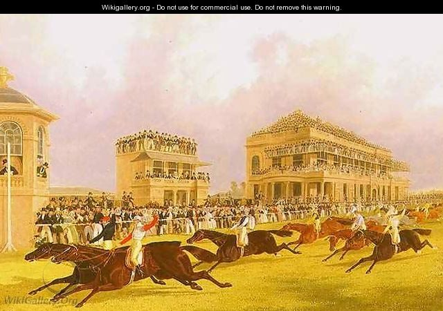 The Dead Heat for the Doncaster Great St Leger Stakes between Charles XII and Euclid - J. F. & Pollard, James Herring Snr.