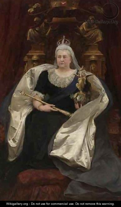 Queen Victoria 1819-1901 - Sir Hubert von Herkomer