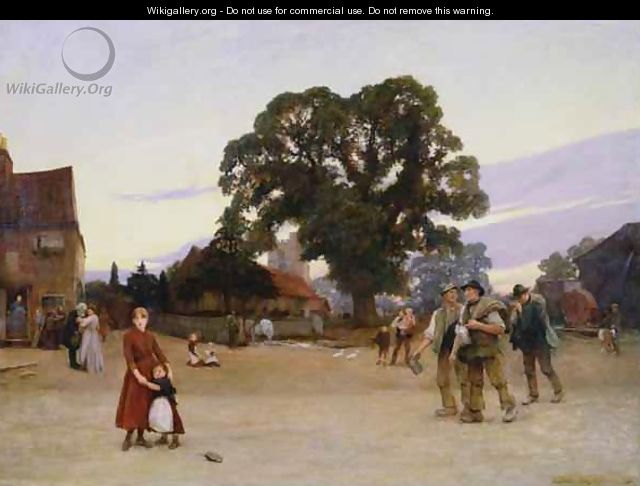 Our Village - Sir Hubert von Herkomer