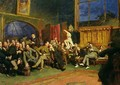 Evening in the Studio with my Students - Sir Hubert von Herkomer