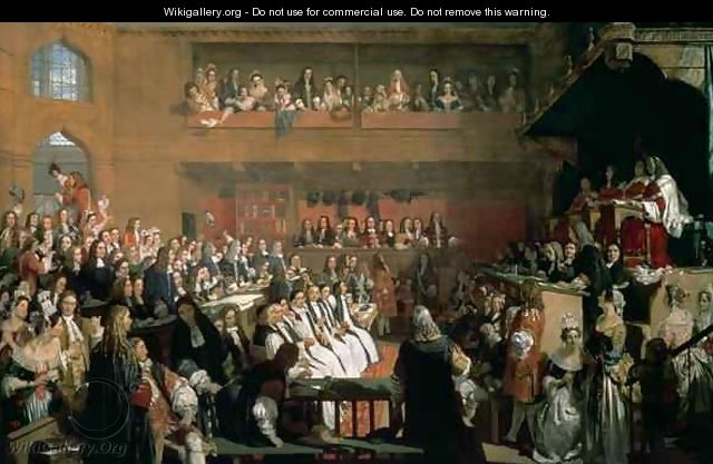 The Trial of the Seven Bishops in the House of Commons during the Reign of James II - John Rogers Herbert