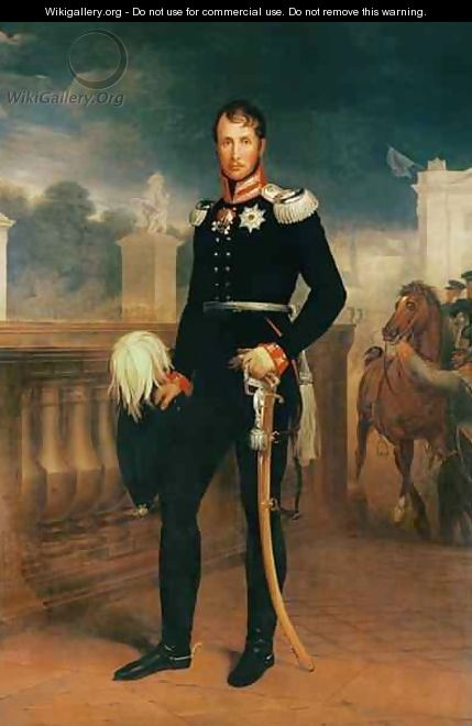 Frederick William III King of Prussia - W. Herbig
