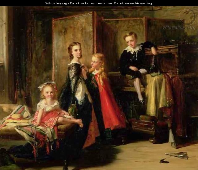 Dressing for the Charade The Children of Patrick Allan Fraser - Robert Herdman