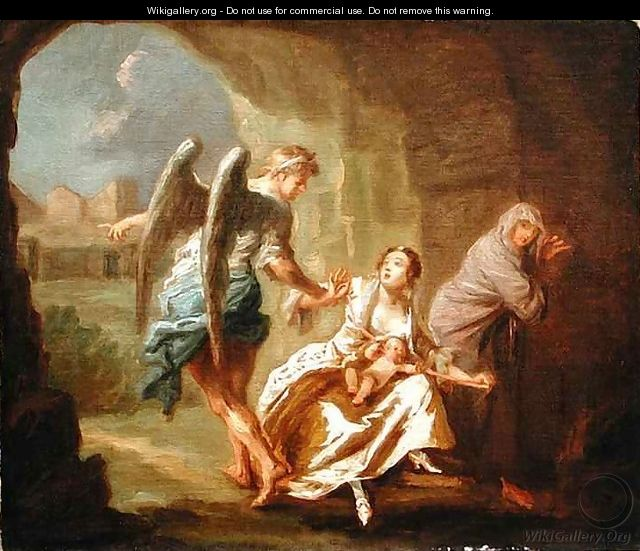The Angel of Mercy - Joseph Highmore