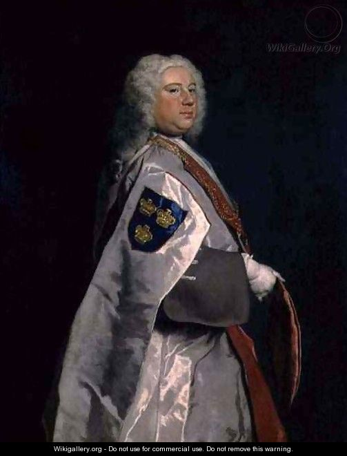 Samuel Booth Messenger of the Order of Bath - Joseph Highmore
