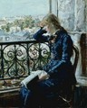 At the Window - Hans Olaf Heyerdahl